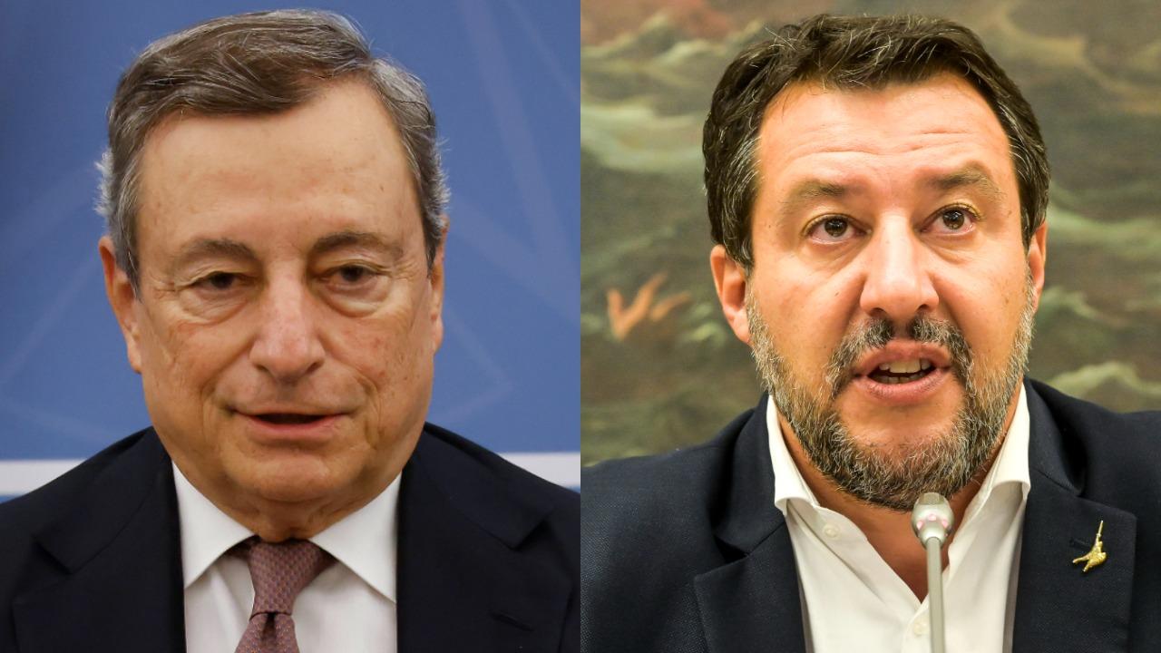 Draghi incontrerà Salvini mentre il Cdm decide sulle riaperture di discoteche e sulla capienza di cinema e stadi