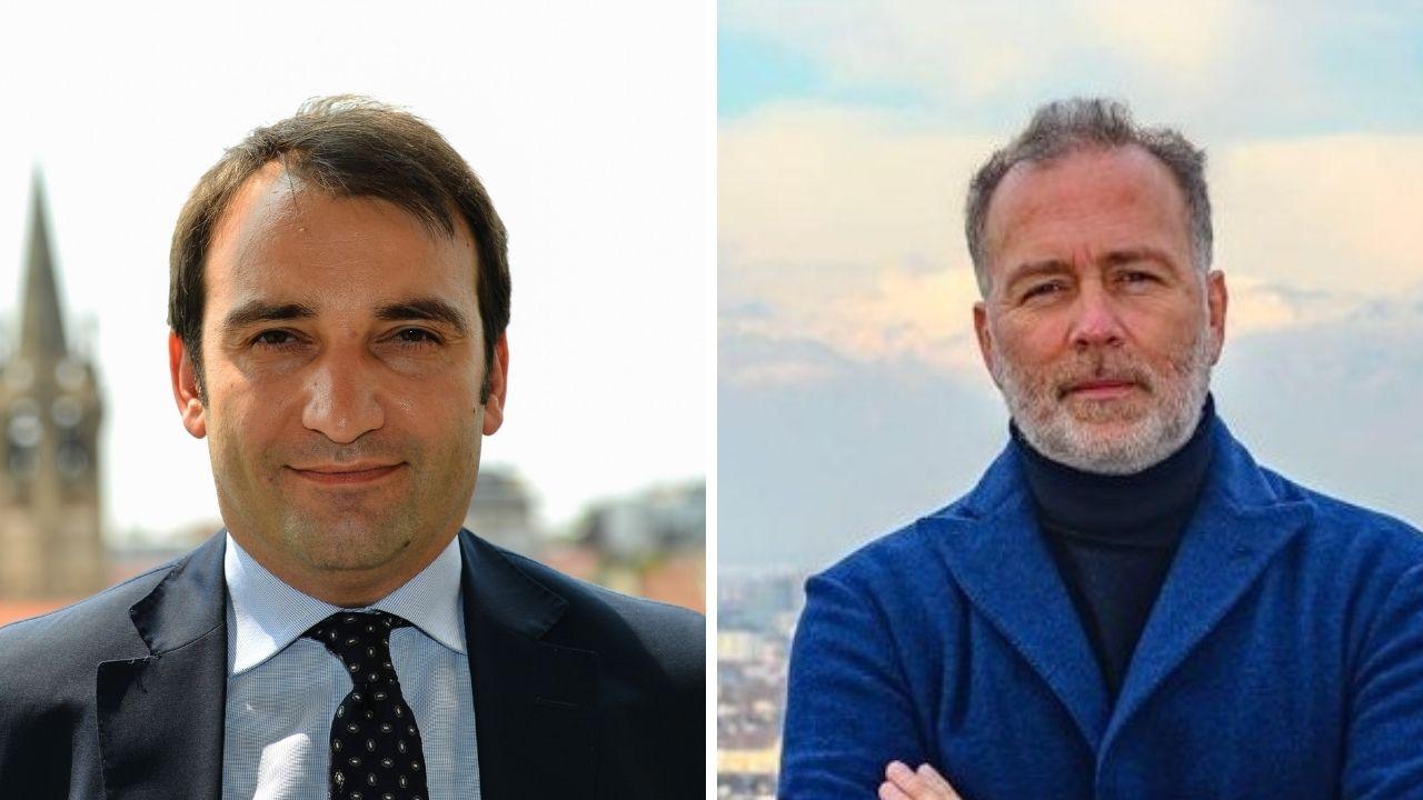 Elezioni amminstrative Torino: Stefano Lo Russo e Paolo Damilano