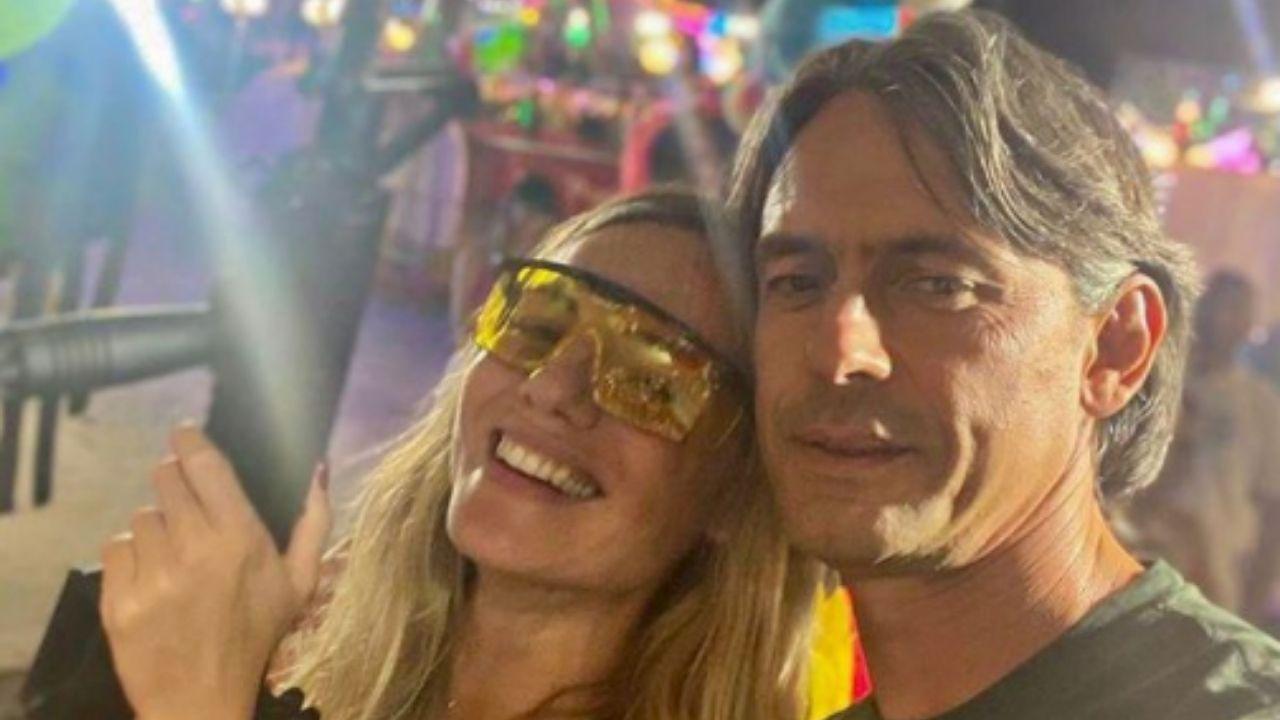Pippo Inzaghi papà: è nato Edoardo, primo figlio a 48 anni per l'ex calciatore e Angela Robusti. La foto