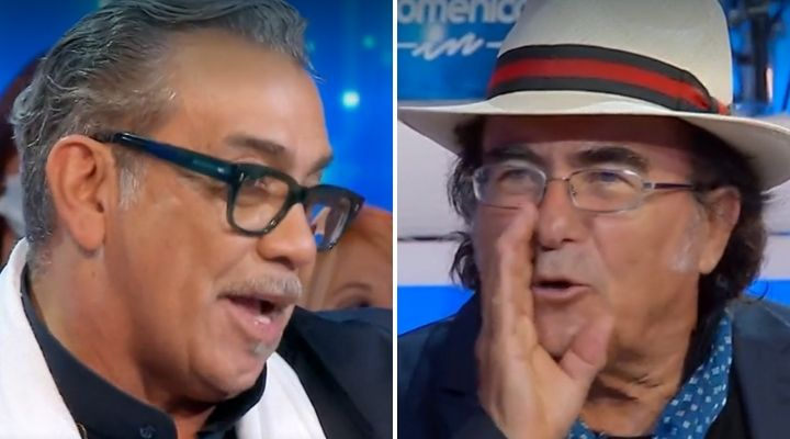 """Guillermo Mariotto nel mirino di Al Bano a Domenica In: """"Sei diventato il mio nemico"""". Confronto dopo Ballando"""