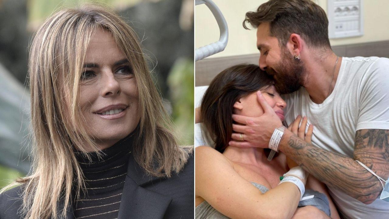 Paola Perego, il messaggio a Lorella Boccia e Niccolò Presta per la nascita della piccola Luce Althea