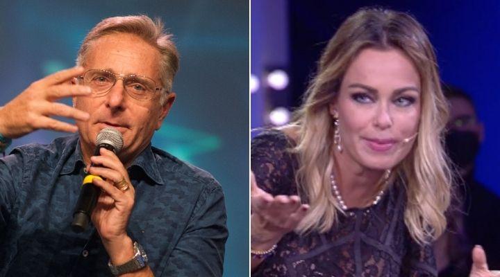 Paolo Bonolis al telefono al GF Vip, fuoriprogramma in diretta: il siparietto con la moglie Sonia Bruganelli