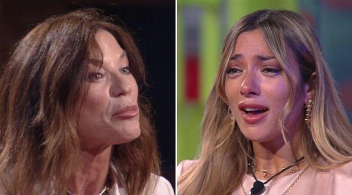 Soleil Sorge scoppia in lacrime di fronte a mamma Wendy: commovente incontro nel giardino del GF Vip